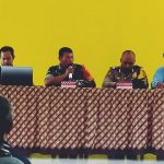 Babinsa Langgai Hadiri Rapat Pembahasan Sewa Kios Pasar Desa