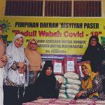 Ditengah Pandemi Covid-19, PD Aisyiyah Paser Bagikan Sembako dan Masker
